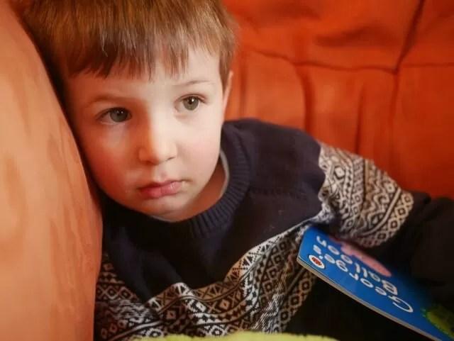 pensive preschooler
