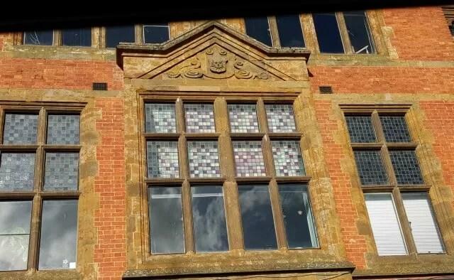library window mosaics
