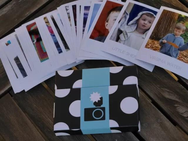 Cheerz box and photos