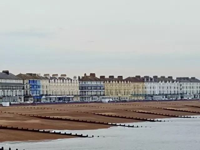 Eastbourne sea front