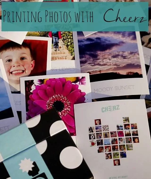 Printing photos with cheerz - Bubbablue and me