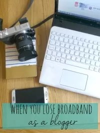 blog without broadband