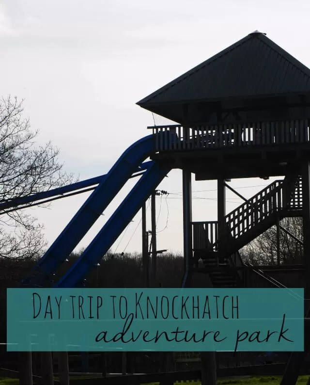 day trip to Knockhatch adventure park - Bubbablue and me