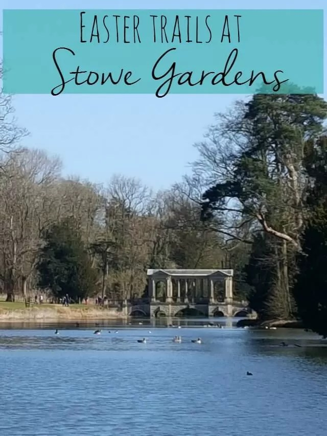 easter trails at Stowe Gardens - Bubbablue and me