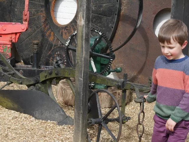 old machinery at michelham priory