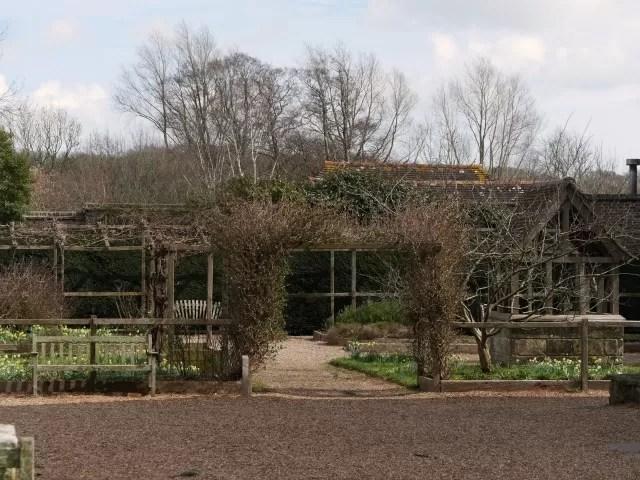 psychic garden at michelham priory