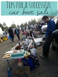 car boot sale as a seller