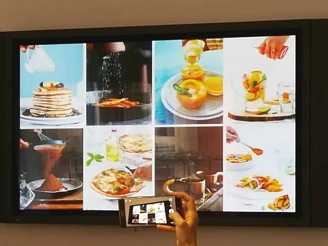 food styling and photography session at blogcamp