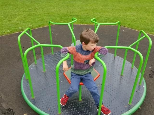 playground roundabout My Sunday Photo