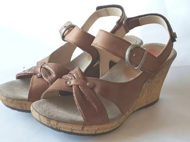 Wolky sandals wedges