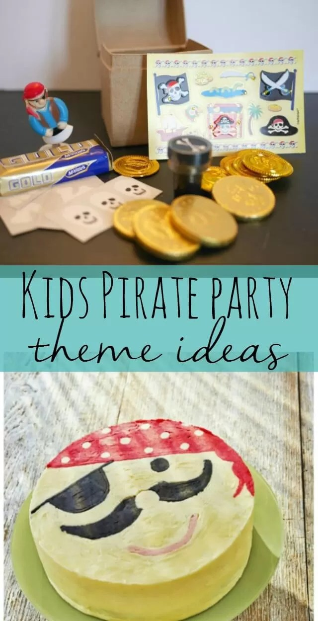 pirate party ideas - Bubbablue and me