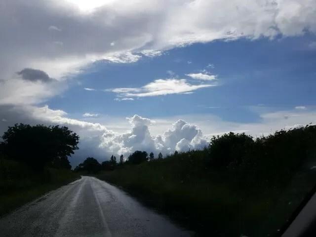 mountainour clouds