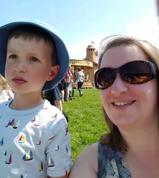 mum and son selfie at Geronimo