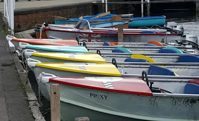 rowing boats in Henley on thames