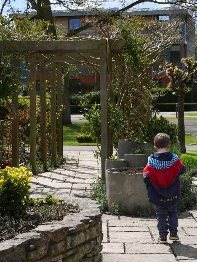 sensory garden in Henley on thames