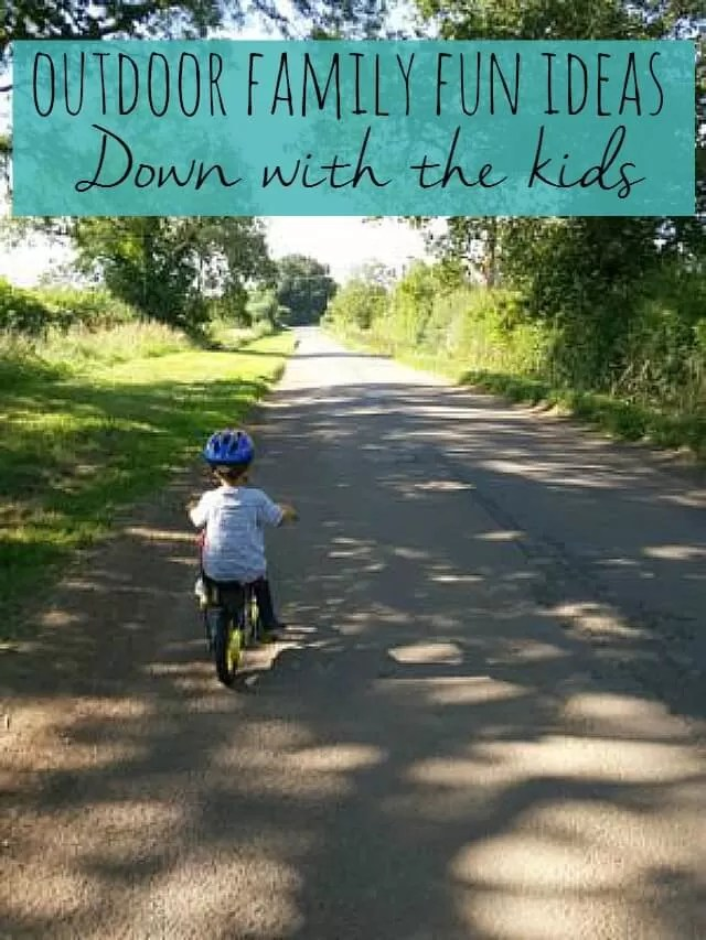 7 outdoor family fun activities - Bubbablue and me