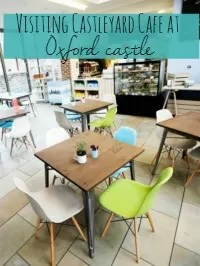 oxford castle cafe