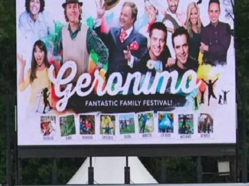 Geronimo festival screen - Bubbablue and me