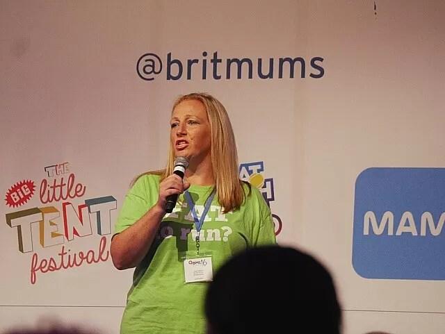 Julie Creffield speaking at BML16