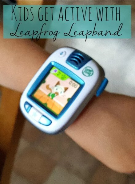 Kids get active with Leapfrog Leapband - Bubbablue and me