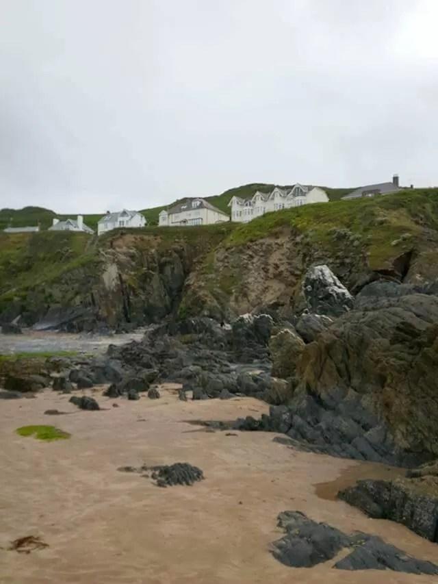 Watersmeet beach rocks