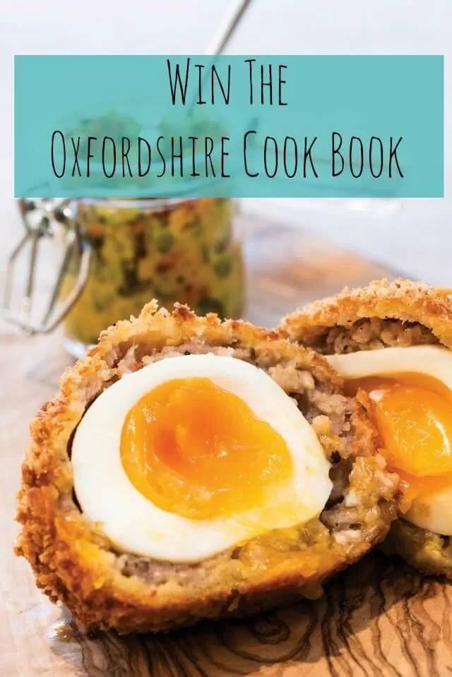 Win The oxfordshire cook book