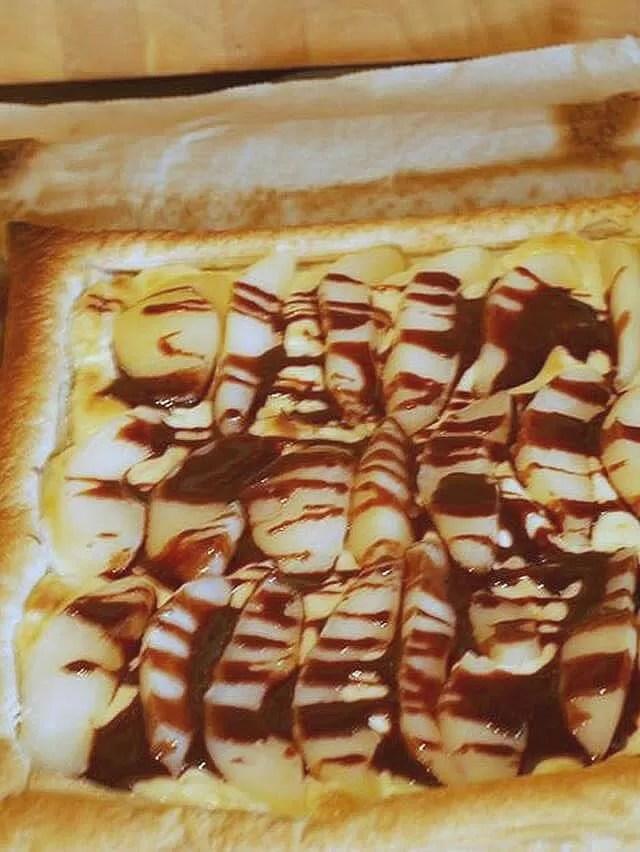 pear and chocoalte tart 2