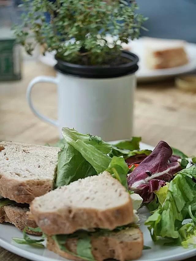 sandwich at castleyard cafe oxford