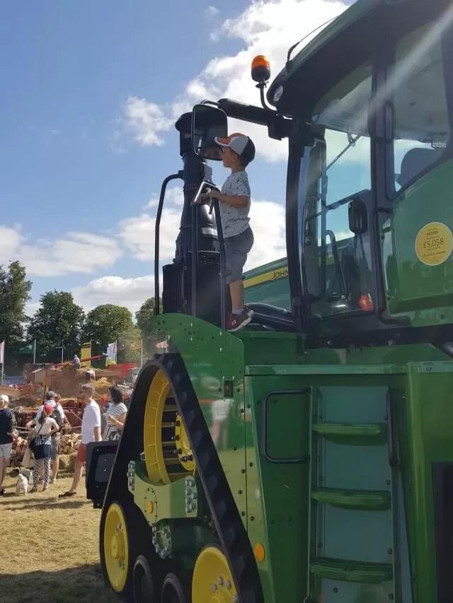 climbing the combine