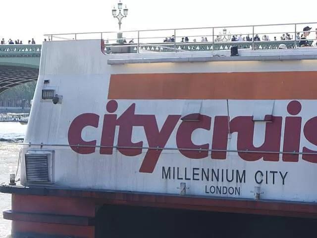City Cruises boat