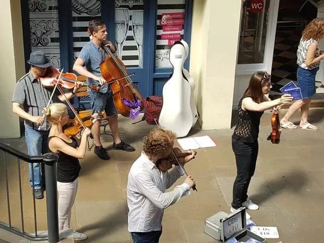 Covent garden string quintet