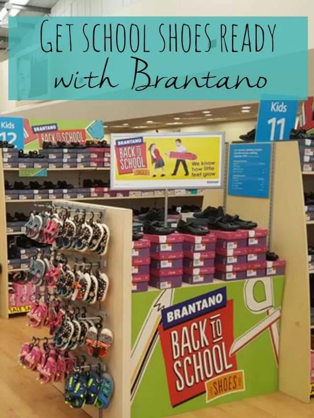Get school shoes ready with Brantano Bubbablue and me