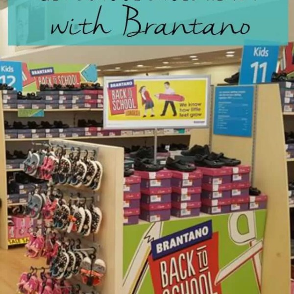 Get school shoes ready with Brantano
