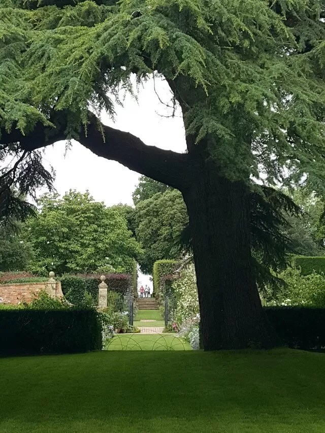 Through the path view at Hidcote Gardens