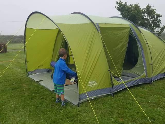 Vango Padstow tent set up