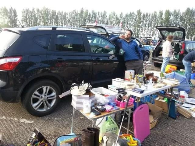 car boot selling