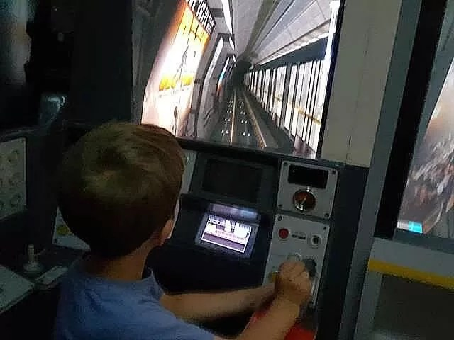 driving a tube