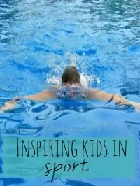 inspiring children in sport