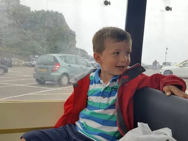 riding on the ilfracombe land train