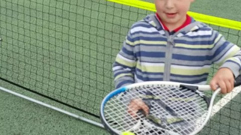 Introducing children to sports – a tennis open day