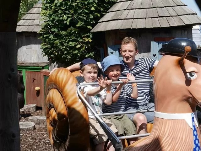 the snail ride at watermouth castle