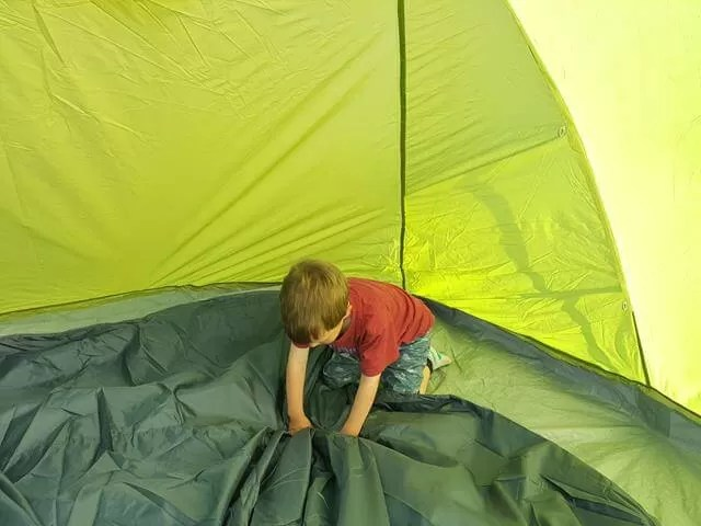 toggling in the inner tent