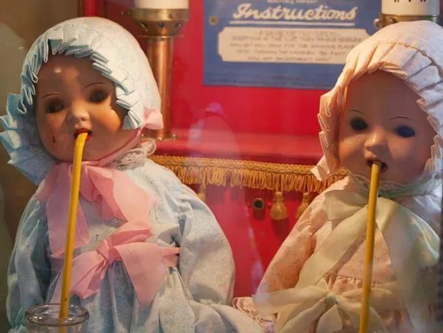 twin doll game at watermouth castle
