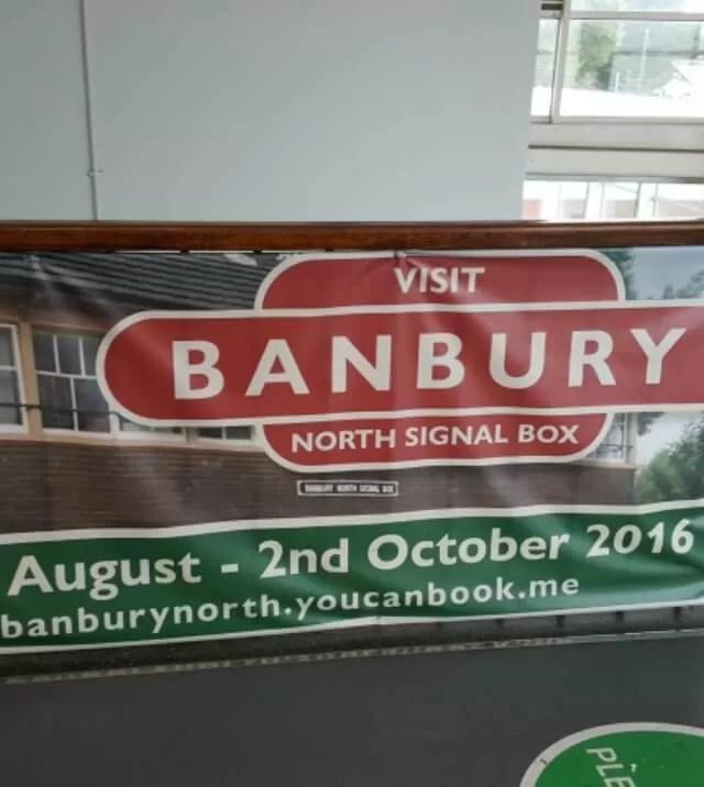 banbury north signal box - Bubbablue and me
