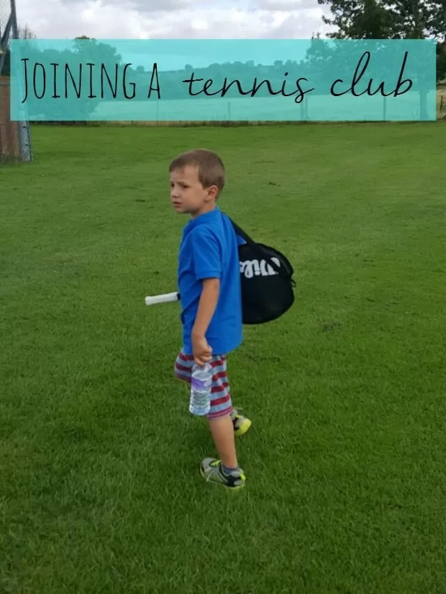 joining a tennis club - Bubbablue and me
