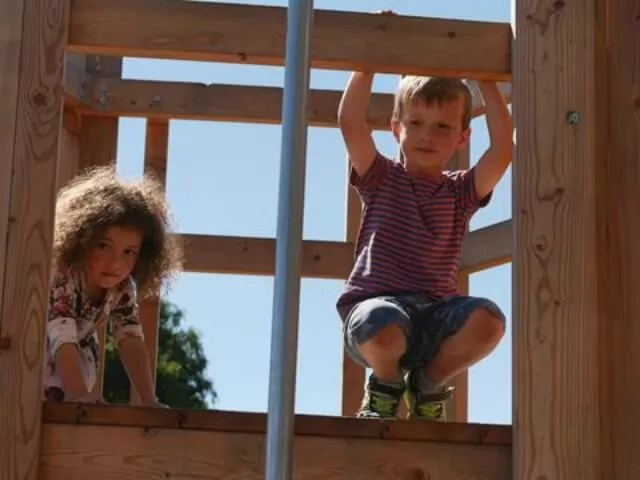 at-the-top-of-the-climbing-frame-at-odds-farm-park