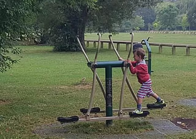 cross trainer park equipment