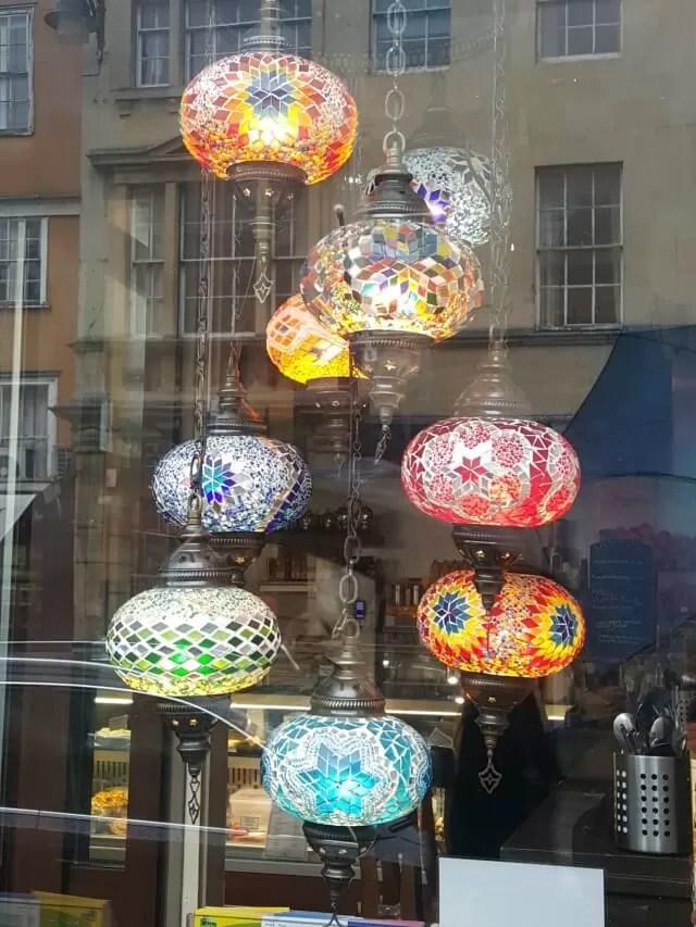 pretty lights in Oxford