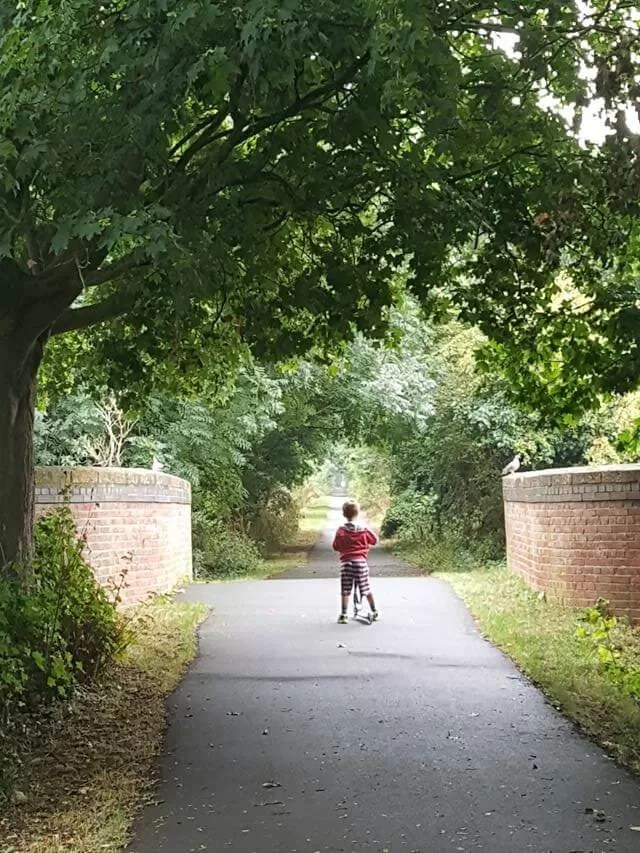 scooting-on-the-cycle-path