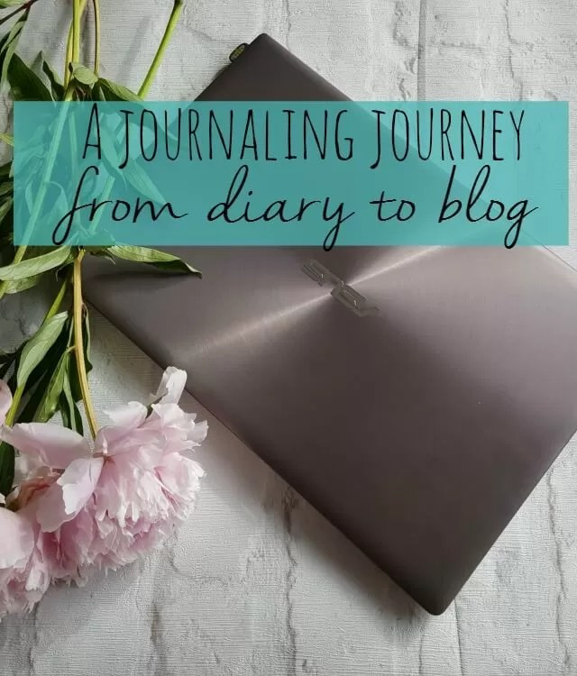 journaling journey from diary to blog - Bubbablue and me